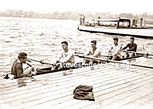 Early YALE CREW Handsome Team Photo - GAY INTEREST (Image1)