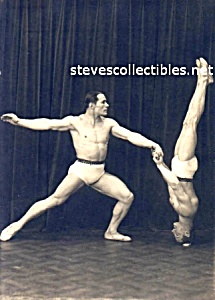 Early HOT Muscular GYMNASTS-DANCERS Photo-GAY INTEREST (Image1)