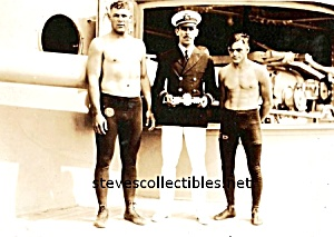 1920s MUSCULAR WRESTLERS Photo - GAY INTEREST (Image1)