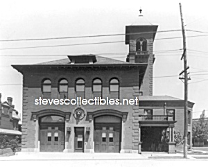 C.1911 York, Pa Royal Fire Station Front Photo - 8 X 10