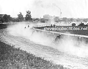 c.1920 MOTORCYCLE RACING Near Washington D.C. Photo (Image1)