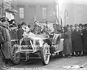 c.1908 NEW YORK TO PARIS Race-LeLouvier Photo - 8 x 10 (Image1)