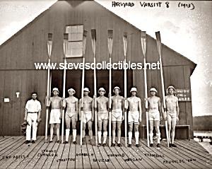 1913 HARVARD Varsity Crew TEAM Photo - GAY INTEREST (Image1)