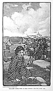 c.1900 ELIZABETH SHIPPEN GREEN Mag. Print: GIRL (Image1)