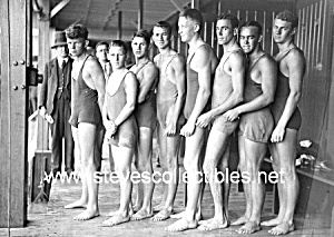 1920s Hot Male SWIM TEAM -  Photo - GAY INTEREST (Image1)