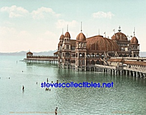 c.1901 SALT AIR PAVILION Great Salt Lake UTAH Photo (Image1)