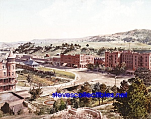 c.1900 EVANS HOTEL-HOT SPRINGS South Dakota Photo -8x10 (Image1)