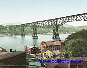 c.1904 POUGHKEEPSIE BRIDGE New York Photo - 8x10 (Image1)