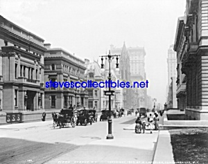 c.1907 - 5th Ave. at East 51st, NYC Photo - 8 x 10 (Image1)
