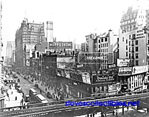 c.1910 Thirty-Fourth St. & Sixth Ave N.Y. Photo -8 x 10 (Image1)