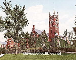 c.1900 NORTHAMPTON, MASS Music Hall Smith College Photo (Image1)