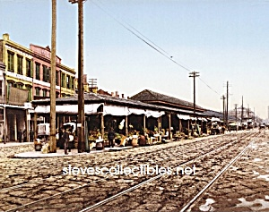 c.1900 NEW ORLEANS, The French Market Photo - 8 x 10 (Image1)