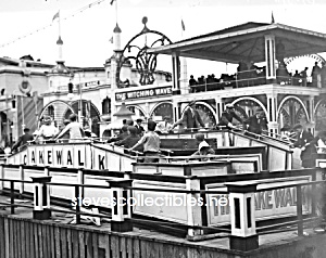 c.1905 CONEY ISLAND - The Cakewalk Ride - Photo - 8x10 (Image1)