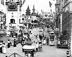 c.1905 CONEY ISLAND in Luna Park - Photo - 8x10 (Image1)