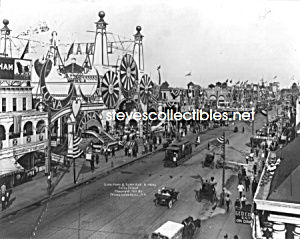 C.1905 Coney Island Luna Park Ave. - Photo - 8x10