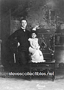 C.1904 Chiquita The Doll Queen Midget Side Show - Photo