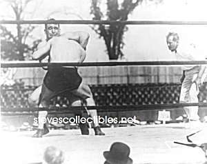c.1920 STRANGLER LEWIS defeats Cossack Wrestling- Photo (Image1)