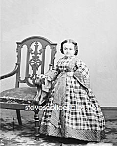 C.1860 Miss Lavinia Warren Midget-sideshow-circus-photo