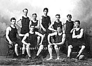 ca.1893 TEAM WITH MUSCLES Photo - GAY INTEREST (Image1)