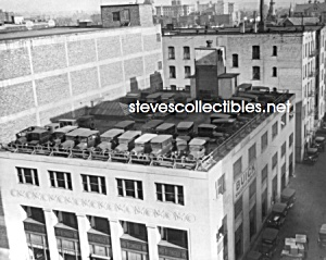 c.1925 BUICK DEALERSHIP - Roof Parking Photo - 8x10 (Image1)