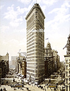 C.1903 Fuller [flatiron] Building, N.y. Photo - 8 X 10