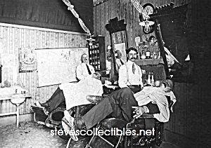 C.1911 Anaheim Fox Barber Shop Photo - 5 X 7