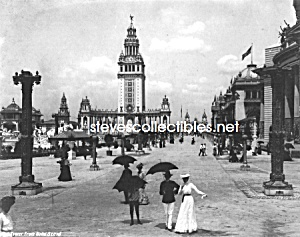 1901 Pan American Expo, Buff, Ny Photo Electric Tower