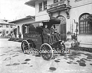 1901 Pan American Expo, Buff, Ny Photo Ambulance