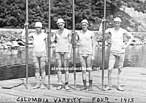 1913 COLUMBIA Rowing CREW TEAM Photo - GAY INTEREST (Image1)