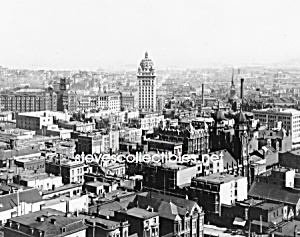 c.1902 SAN FRANCISCO, CALIFORNIA Birds Eye Photo (Image1)