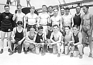 1920s Hot MALE OLYMPIANS Photo - GAY INTEREST (Image1)