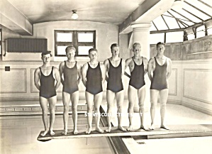 Early HOT Male Swimmers Photo - GAY INTEREST (Image1)