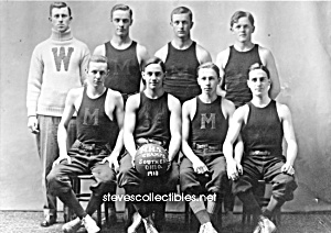 1913 TEAM WITH MUSCLES Photo - GAY INTEREST (Image1)