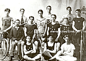 1897 MALE TRACK/CYCLING TEAM Photo - GAY INTEREST (Image1)