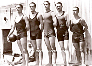 Early BULGY Male BASKETBALLERS Photo - GAY INTEREST (Image1)
