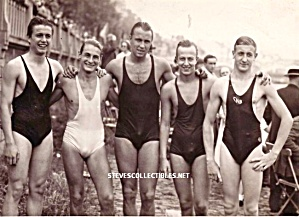 1920s HOT Male Swimmers BODIES AND BULGES Photo-GAY INT (Image1)