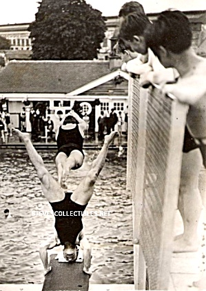 1920 HOT MALE DIVERS Photo - GAY INTEREST (Image1)