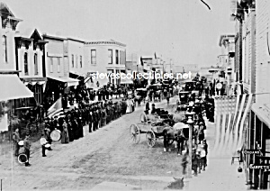 C.1880 Ortonville, Minnesota Civil War Veterans Photo