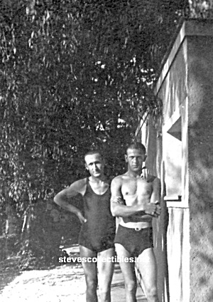 Early Hot Male Swimmers Photo - Gay Interest