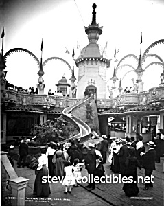 c.1905 LUNA PARK, Coney Island, NY - Photo - 8 x 10 (Image1)