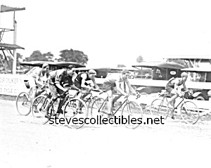 c.1925 Bicycle race near Washington D.C. Photo-8 x 10 (Image1)