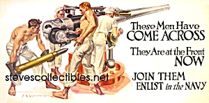 C.1918 J.c. Leyendecker-navy Recruitment - Gay Interest