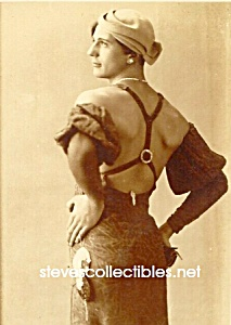 c.1920 Glamour MAN IN DRAG Photo - GAY INTEREST (Image1)