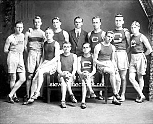 1910 GEORGETOWN Varsity TRACK TEAM Photo-GAY INTEREST (Image1)