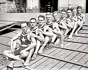 1919 POTOMAC BOAT CLUB 8 Men Photo - GAY INTEREST (Image1)