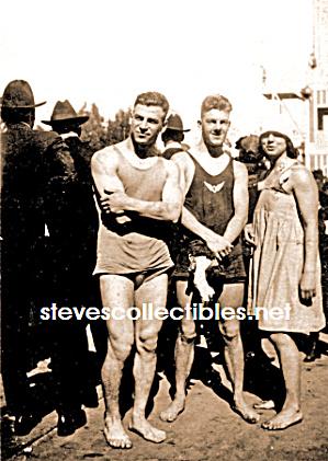 1920s Modest Men In Swim Suits Photo Gay Interest Gay