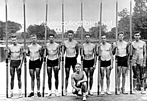 Early HOT SHIRTLESS Rowing CREW TEAM Photo - GAY INTEREST (Image1)