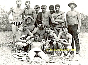 Early Group HOT Shirtless SOLDIERS Photo-GAY INTEREST (Image1)