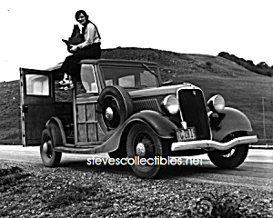 1936 Dorothea Lange and FORD MODEL B (V-8) Photo-8x10 (Image1)
