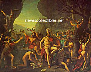 1814 Jacques-Louis David KING LEONIDAS - GAY INTEREST (Image1)